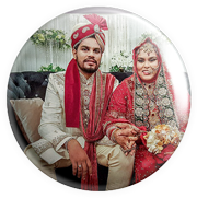 custom wedding button badges in india