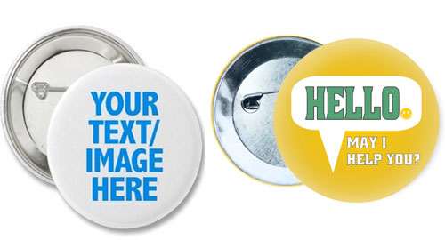 personalized custom badges in India