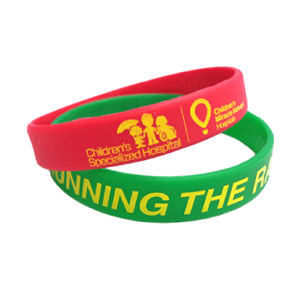 custom wristbands for school events